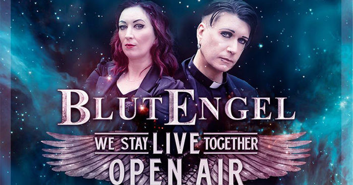 we stay together blutengel kuendigen open air show an fb