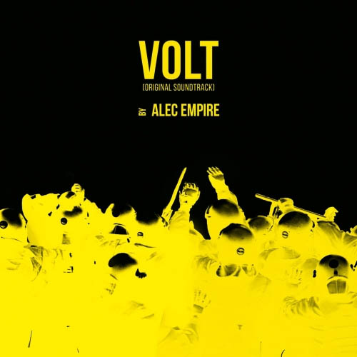 Alec Empire Volt OST CD Cover