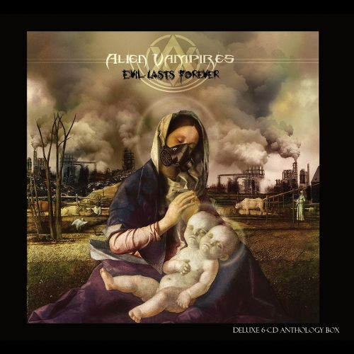 Alien Vampires Evil Lasts Forever CD Cover