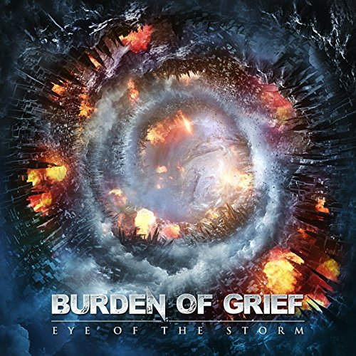 Burden Of Grief Eye Of The Storm CD Cover