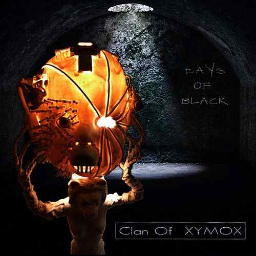 Clan Of Xymox Days Of Black CD Cover