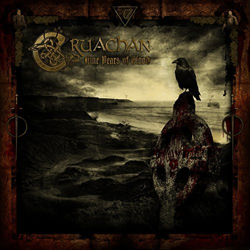 Cruachan Nine Years Of Blood CD Cover