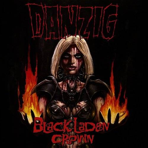 Danzig Black Laden Crown CD Cover