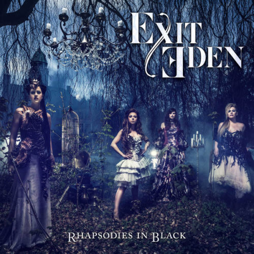 Exit Eden Rhapsodies In Black CD Cover