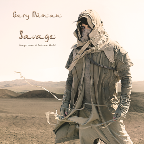 Gary Numan Savage Songs From A Broken World CD Cover