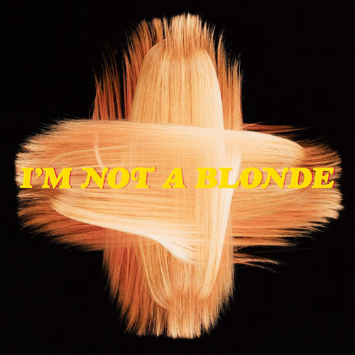 Im Not A Blonde The Blonde Album CD Cover
