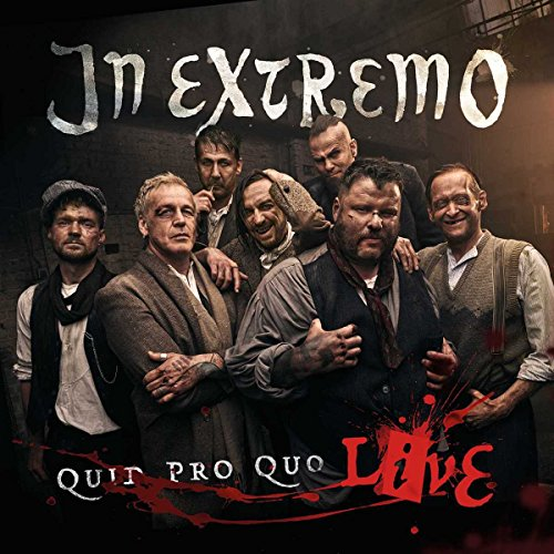 In Extremo Quid Pro Quo Live CD Cover