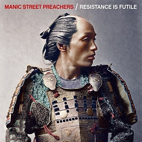 Manic Street Preachers Resistance Is Futile CD Cover