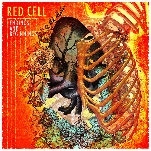Red Cell Endings And Beginnings CD Cover