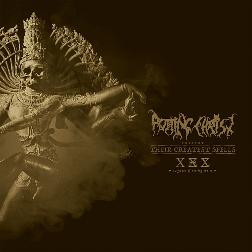 Rotting Christ Their Greatest Spells 30 Years Of Rotting Christ CD Cover