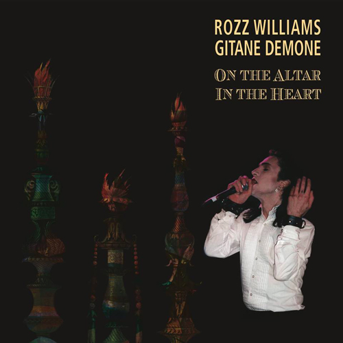 Rozz Williams Gitane Demone On The Altar In The Heart CD Cover