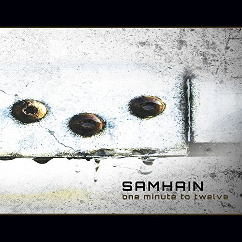 Samhain One Minute To Twelve CD Cover