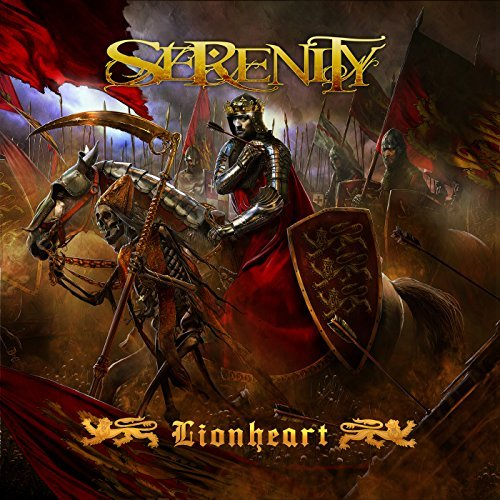 Serenity Lionheart CD Cover