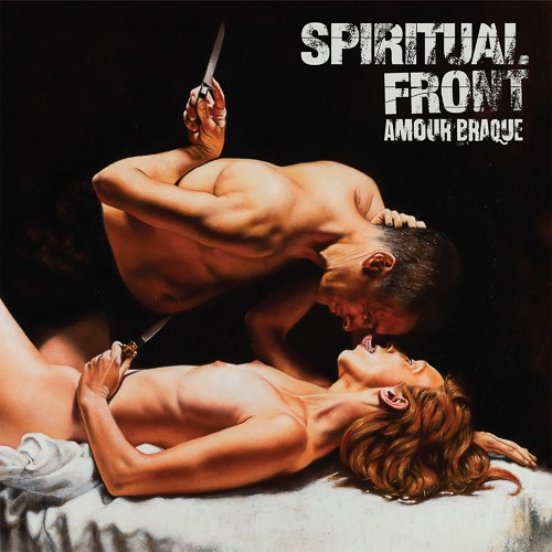 Spiritual Front Amour Braque CD Cover