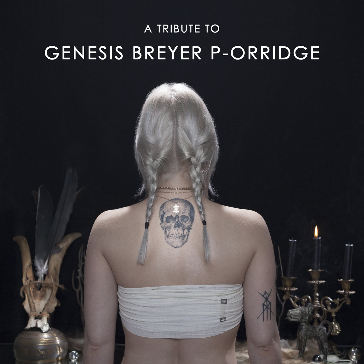 Various Artists A Tribute To Genesis Breyer P Orridge CD A Tribute To Genesis Breyer P Orridge II DL CD Cover