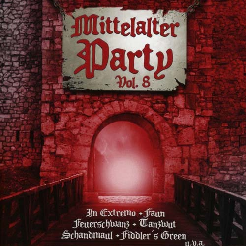 Various Artists Mittelalter Party Vol. 8 CD Cover