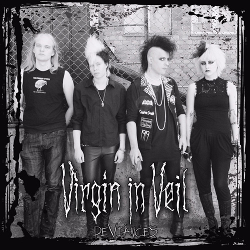 Virgin In Veil Deviances CD Cover