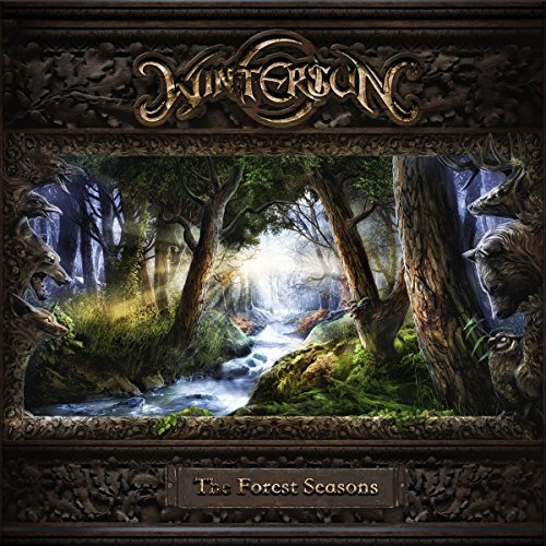 Wintersun The Forest Seasons CD Cover
