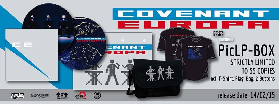 covenant europa picture vinyl box