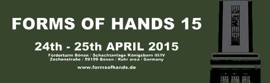 forms of hands 15 logo