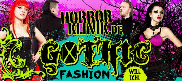 horrorklinik gothic fashion