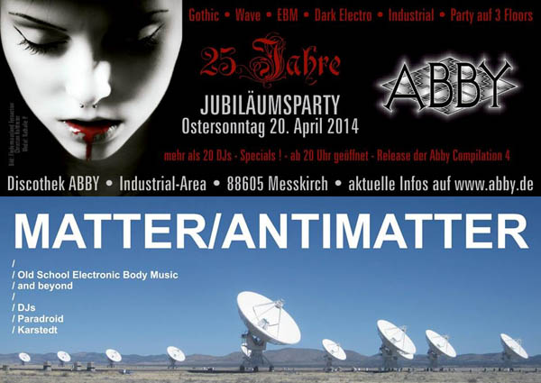 partytipps abby matter antimatter-2014