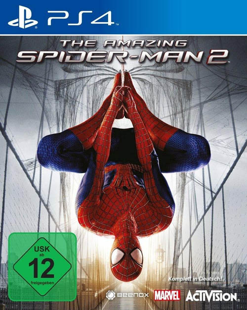 spider-man2 game ps4 packshot