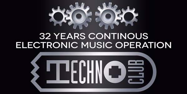 32 years techno club party