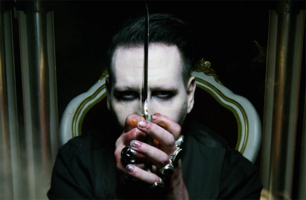 marilyn manson kills donald trump