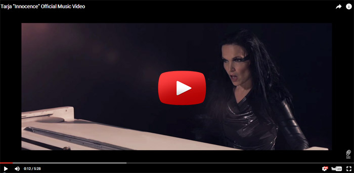tarja innocence video clip