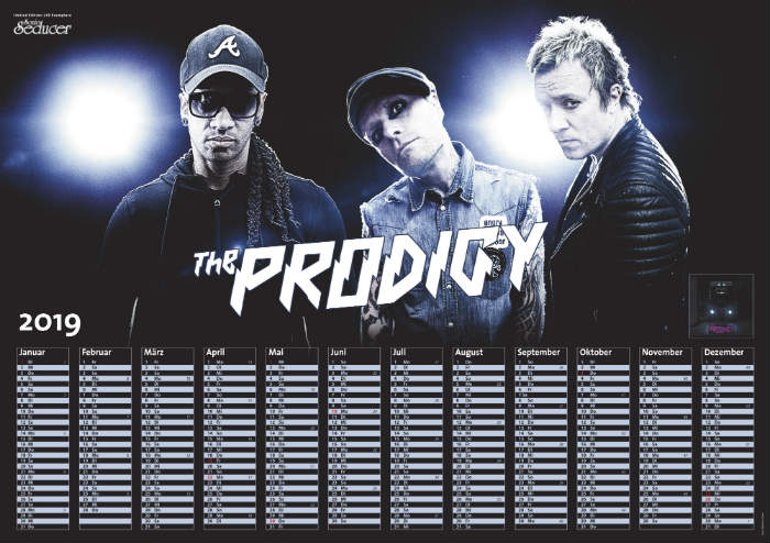 The Prodigy Kalenderposter