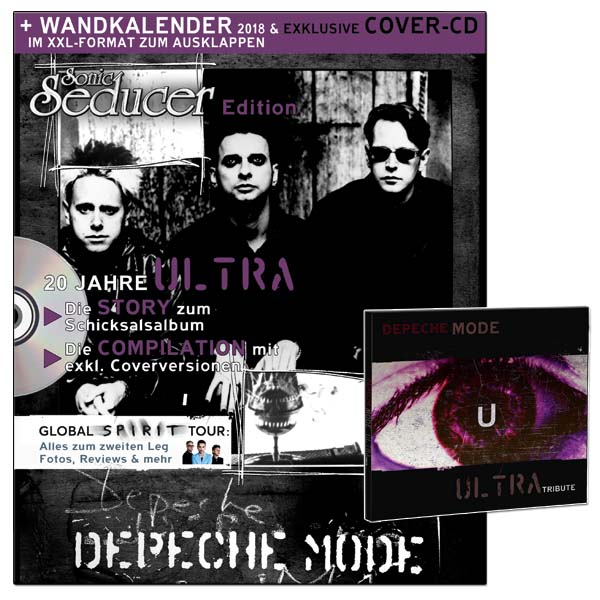depeche mode kalender 2018 cd