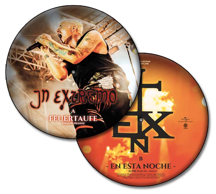 in extremo feuertaufe picture vinyl