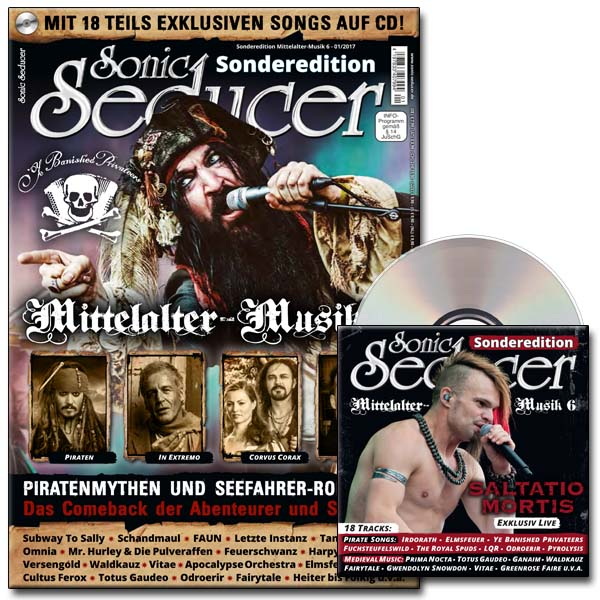 sonic seducer sonderedition mittelalter musik 6 mit cd