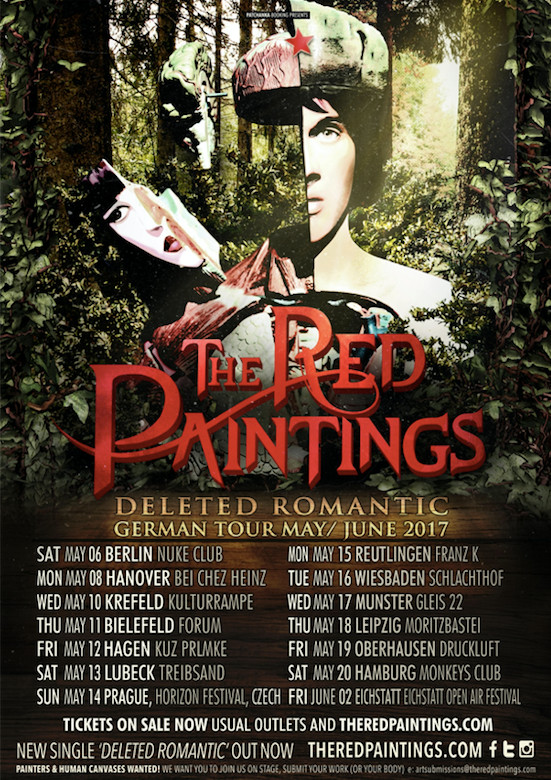 the red paintings tour 2017