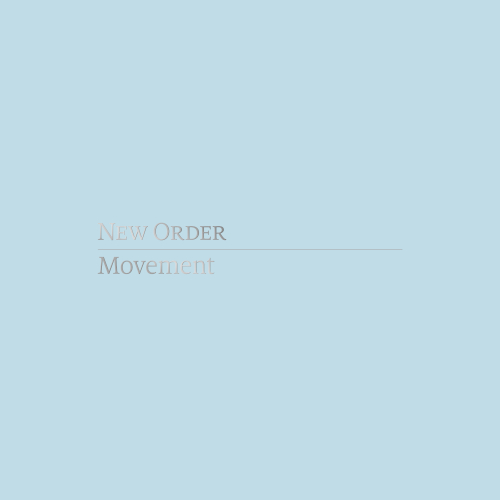 New Order Cover groß