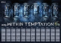Within Temptation Kalenderposter kleinkl