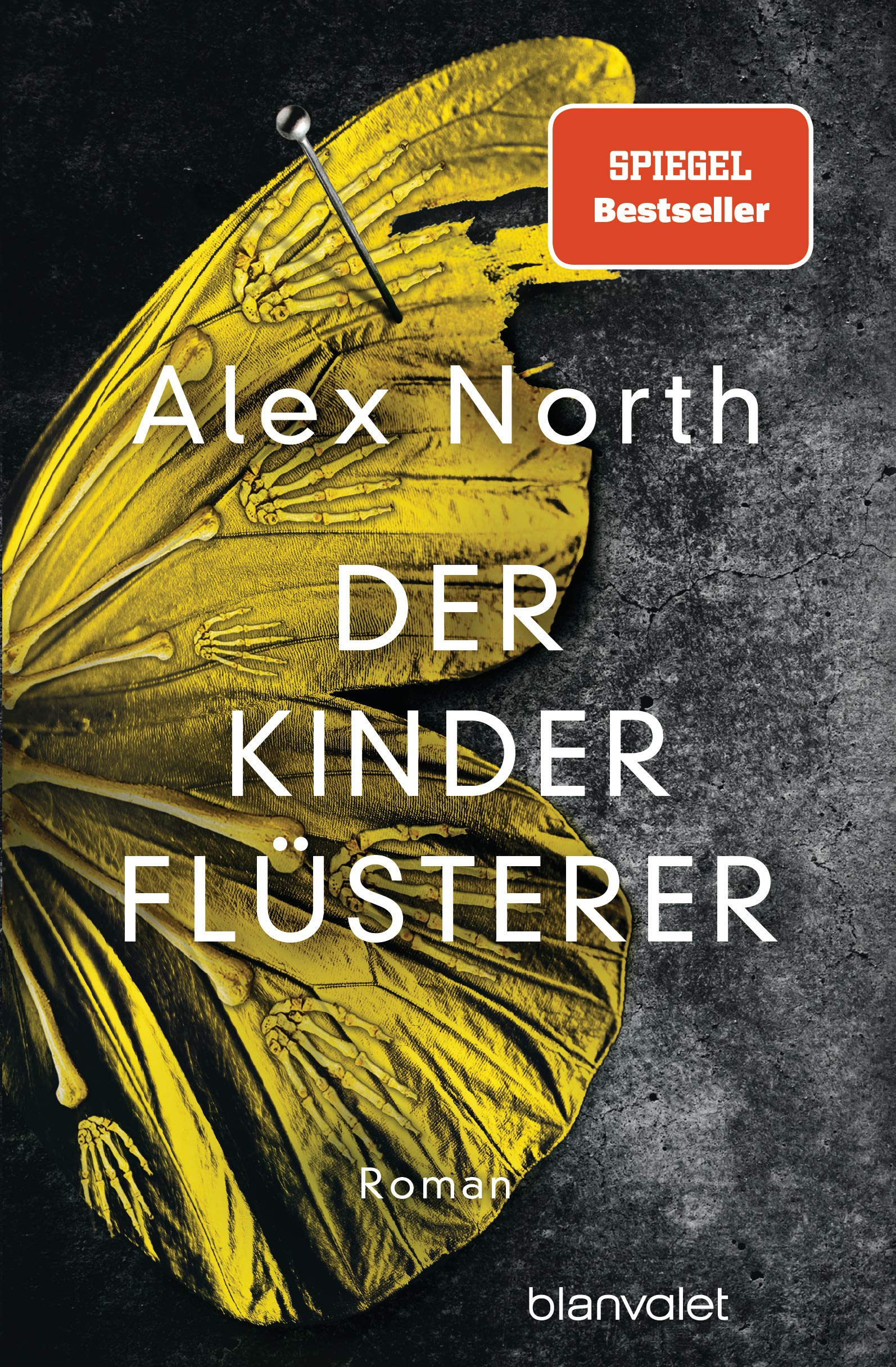 alex north der kinderfluesterer cover