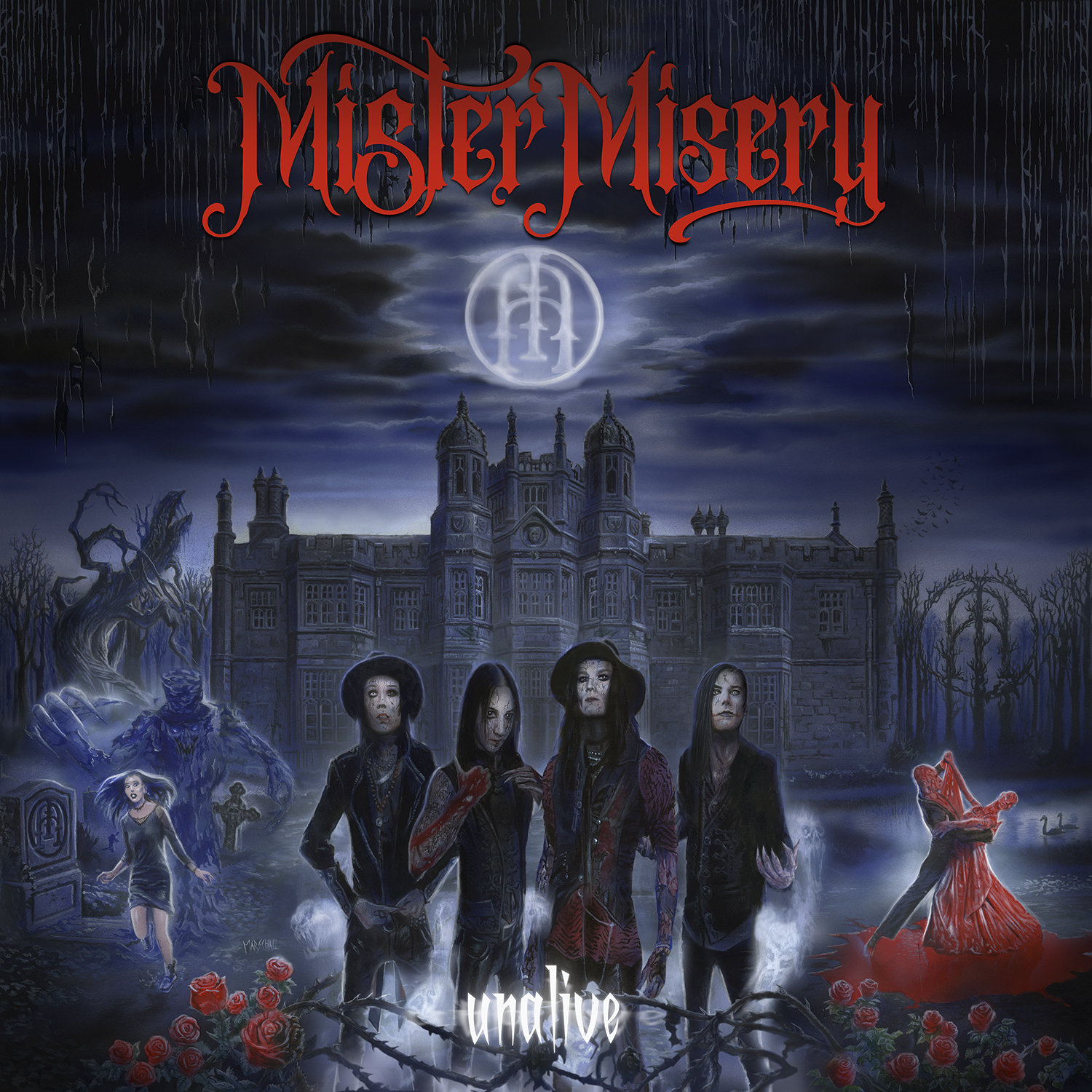 mister misery unalive albumcover