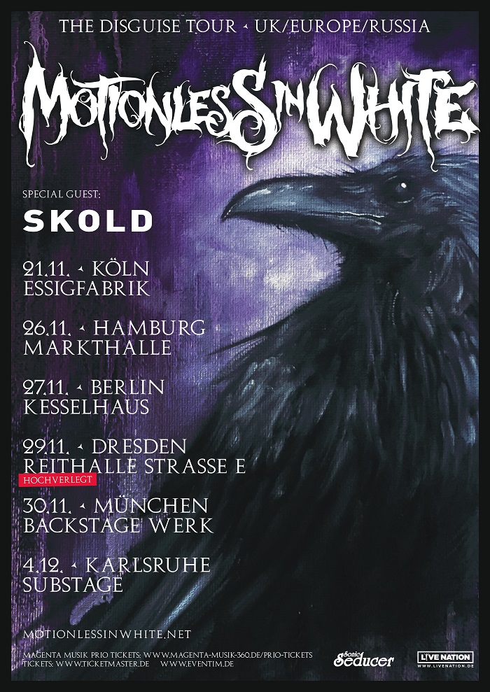 motionless in white plakat