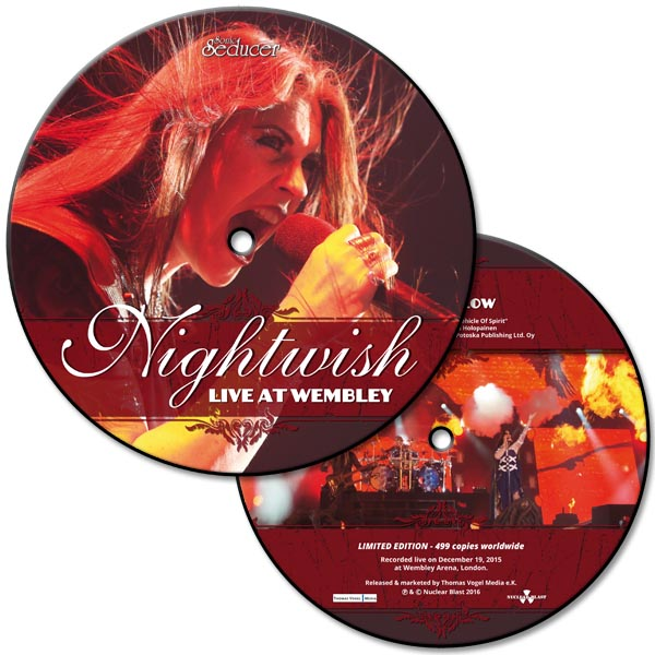 nightwish live at wembley picture vinyl limited