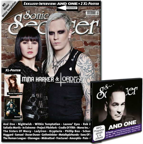 sonic-seducer mina harker und lord of the lost