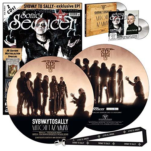 Sonic Seducer 03/2015 limited Edition Subway To Sally Picture Vinyl