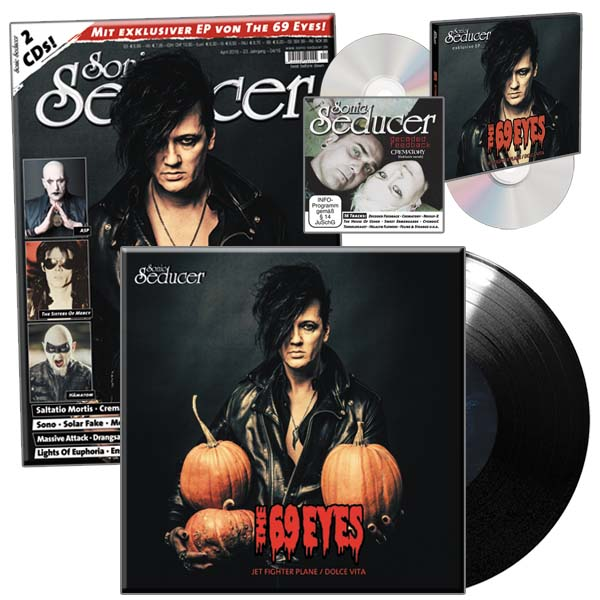 Sonic Seducer 04-2016 mit exkl limitierter Vinylsingle von The 69 Eyes