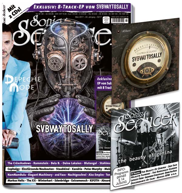 Sonic Seducer 03/2017 mit Subway To Sally Titelstory und 2 CDs