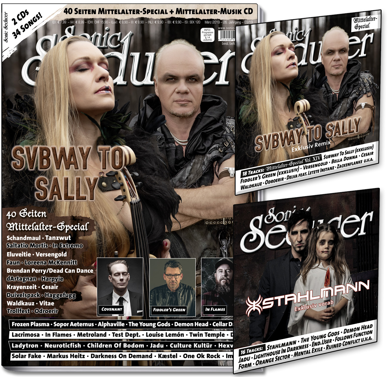 Titel Subway To Sally CoverCds