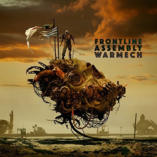 Front Line Assembly WarMech CD Cover