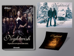 Nightwish Chronik Aufkleber Postkarte Plastisch250