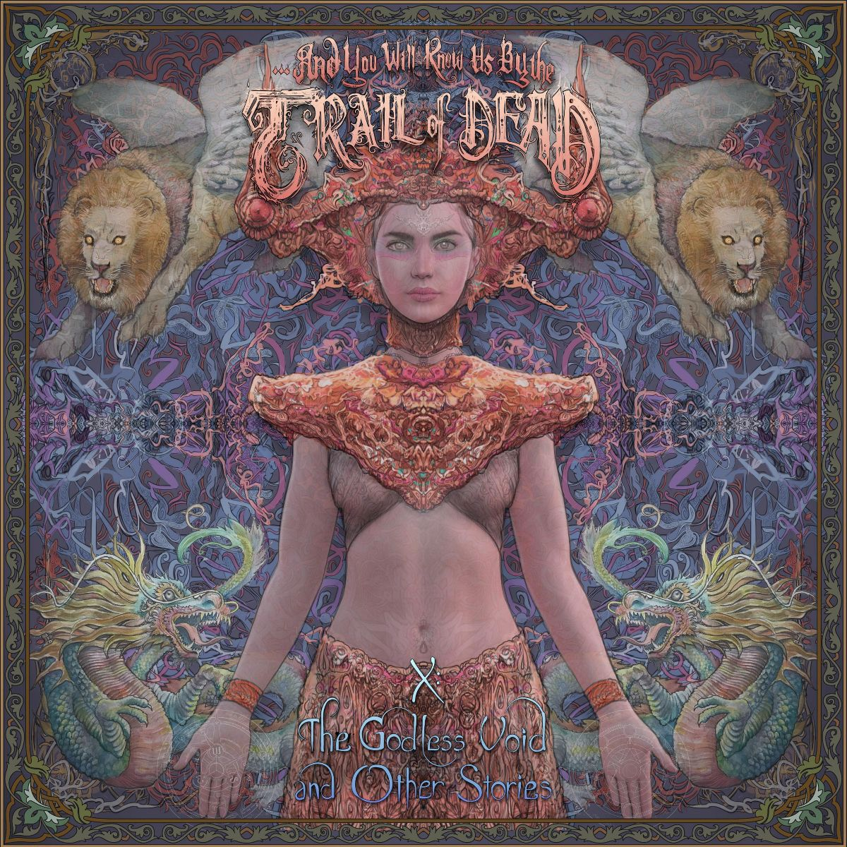 and you will know us by the trail of dead godless void cover
