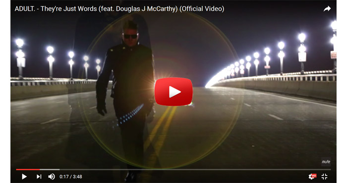 adult douglas mccarthy theyre just words video clip